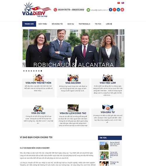 Website cung cấp visa đi mỹ