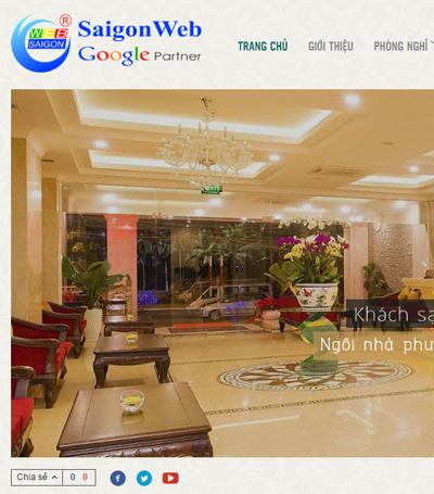 Mẫu Website Khách Sạn - Mẫu 1 (vi)