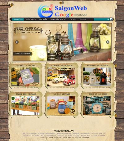 Mẫu website bán hàng - mẫu 6