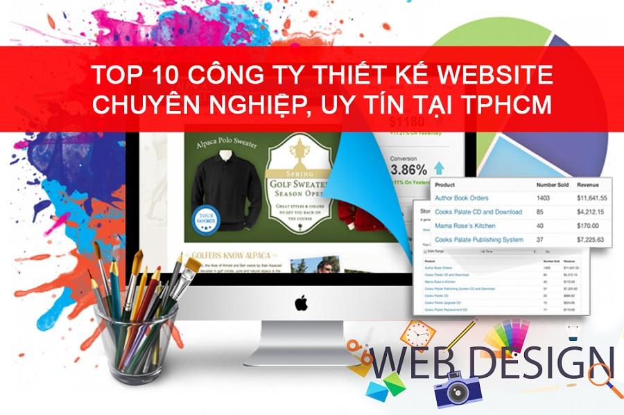 Top 10 công ty thiết kế Website tại TP HCM - Chuyên nghiệp, uy tín